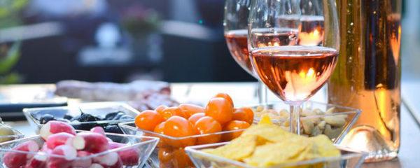 serving an aperitif